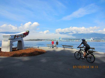 The Stanley Park Seawall Bike Trail is one of the greatest bike trails in the world. Vancouver cycling at its finest!