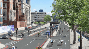 Bike Super Highways in London