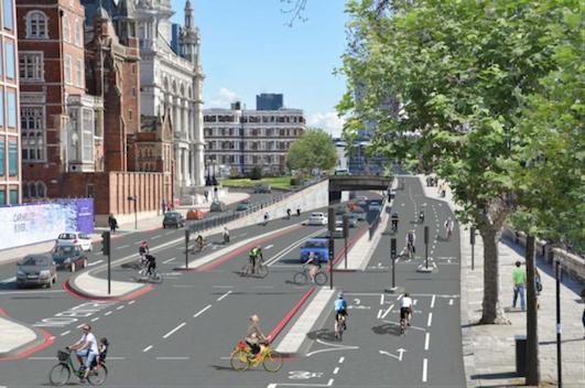 Bike Super Highways in London