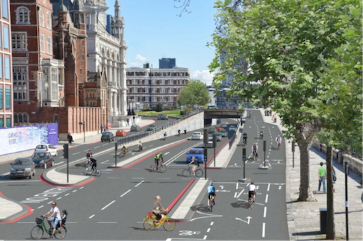 Bike super-highways-safe-cycling-in-London