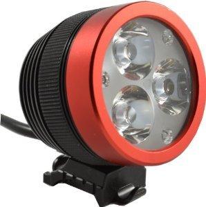 The very bright Lumintrail bike light. 7 of the best bike lights