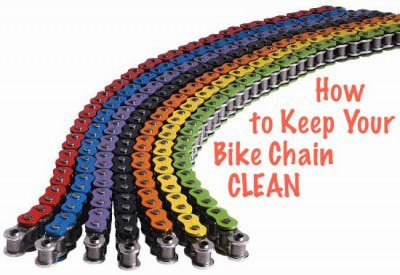 how to keep your bike chain clean