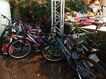 Donated bikes 2013 - 2