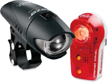 The question is, how to choose the right bike lights for your money, with such a vast choice available?