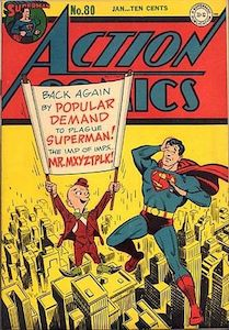 Cover of Superman comic with Mister Mxyzptlk. Best Bluetooth headphones for cyclists - Plantronics Backbeat FIT Bluetooth headphones review
