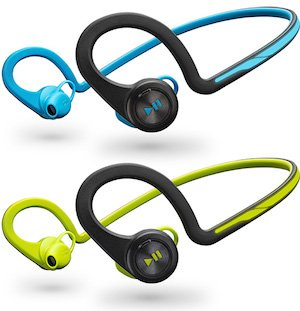 Plantronics BackBeat Fit are available in blue and green (or is that yellow)? Plantronics Backbeat FIT vs Backbeat Go 2 Bluetooth Headphones