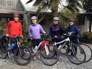 Gulf Island getaways bike tours