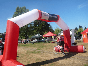 The MS Bike ride raises fund for MS research and to support people with MS