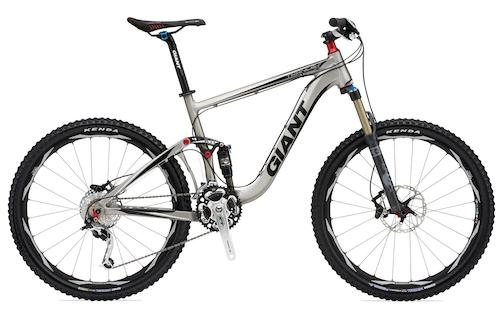 Giant Trance XI full suspension bike