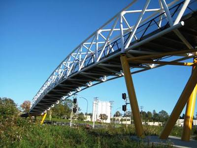 This spectacular bridge on the Central Valley Greenway is a soaring example of what Translink can achieve - so vote Yes on the BC Transit Referendum, and see what else they can do!