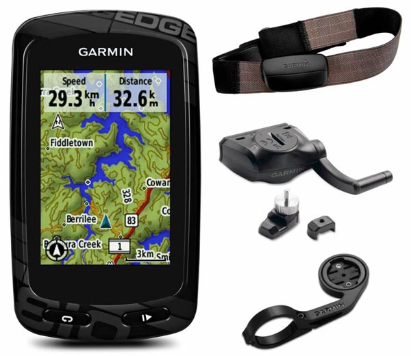 The entire Garmin 810 performance bundle for the truly dedicated cyclist athlete - Edge 1000 vs 810