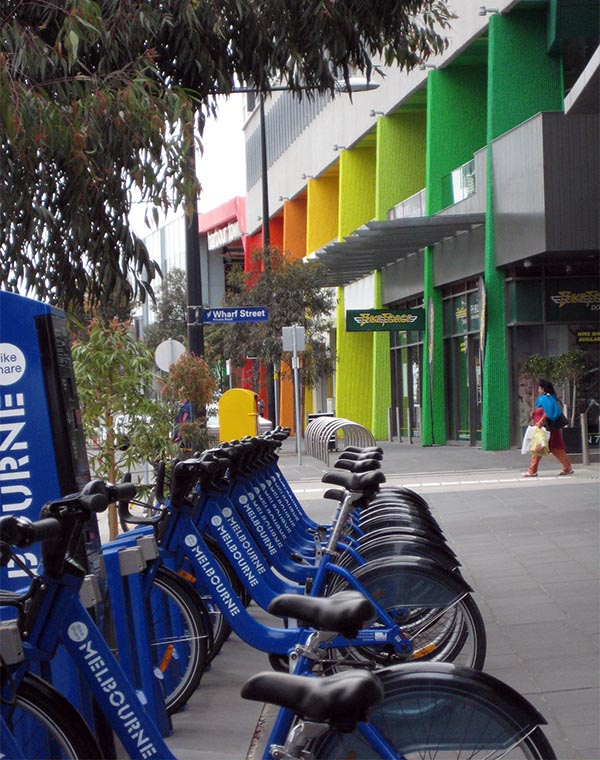 Sadly, most of the 51 Melbourne Bike Share stations are crammed full of bikes that no one is using