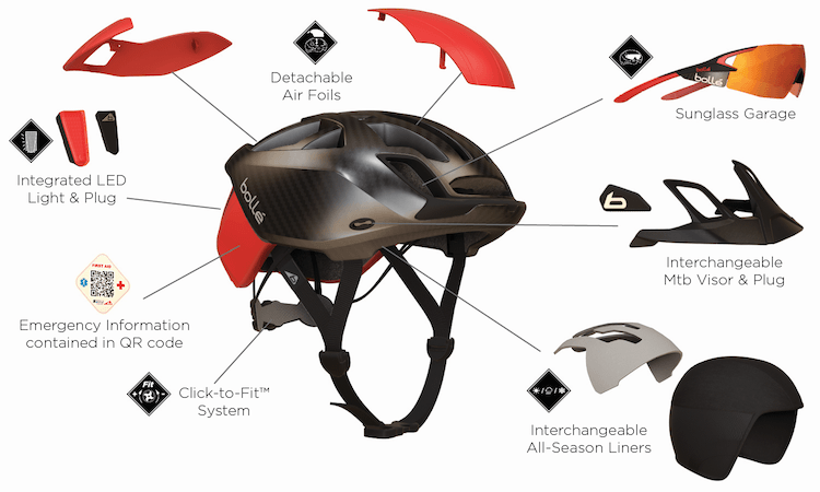 The One, an innovative, high-performance cycling helmet for serious riders