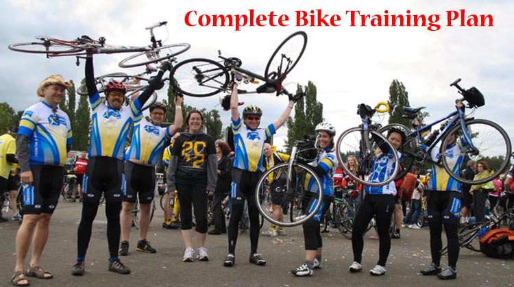 Complete bike training plan