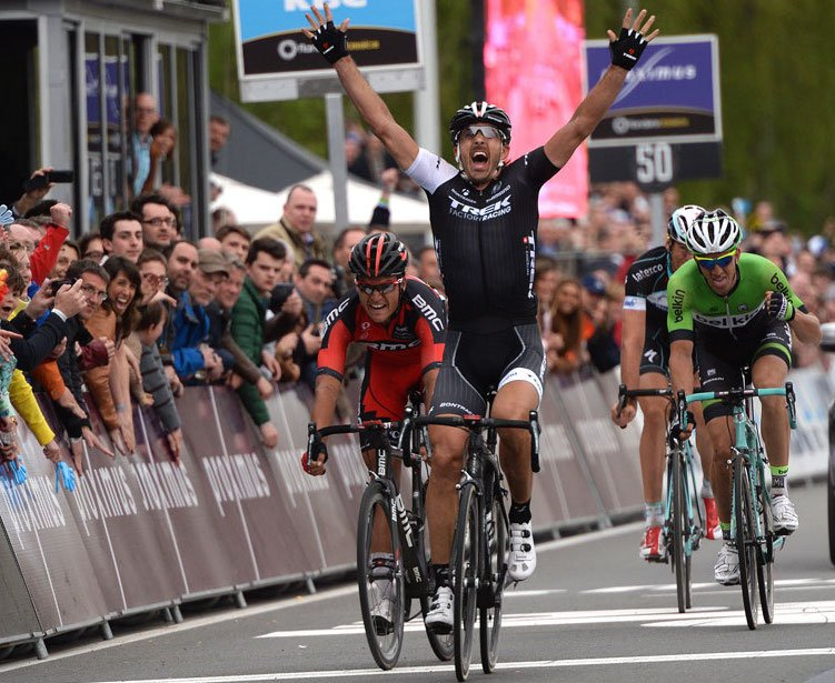 Fabian Cancellara wins the Tour of Flanders