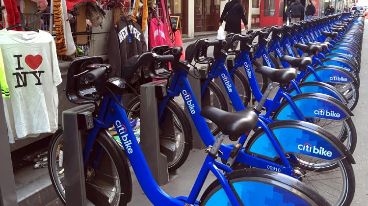 Citi Bikes are everywhere in New York!