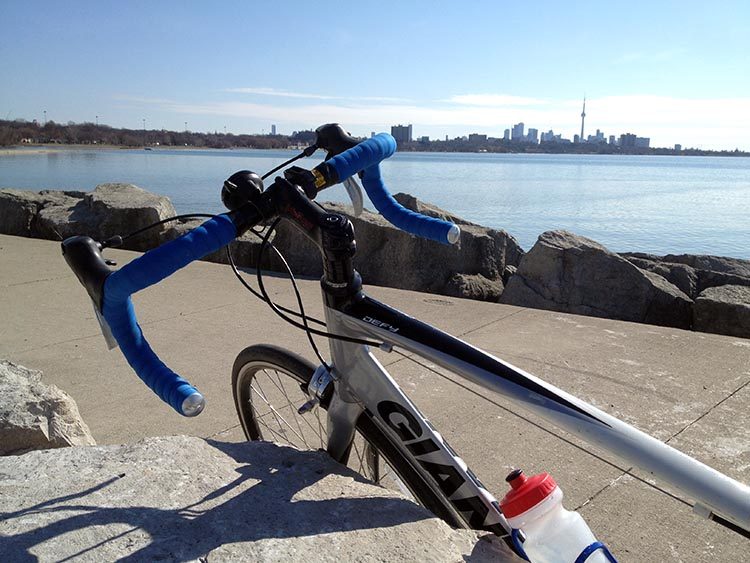 Beautiful Toronto Views Training for the 2014 Ride to Conquer Cancer from Toronto to Niagara