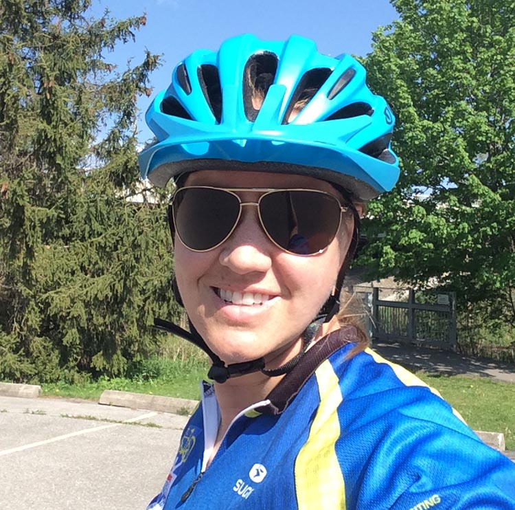 """Heather Adams: """"Doing a Ride is exhilarating, emotional, fun, tiring and inspiring, all at the same time"""""""