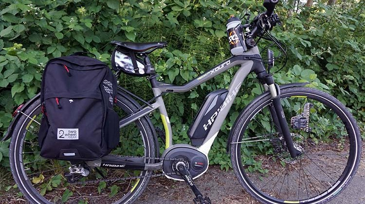 This is the Haibike Pedelec that I use for long bike trips. This exceptionally wonderful bike is reviewed here