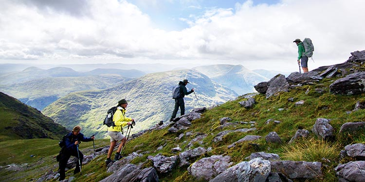 Spend the day climbing the cliffs - Cycling in Ireland - Carrauntoohil