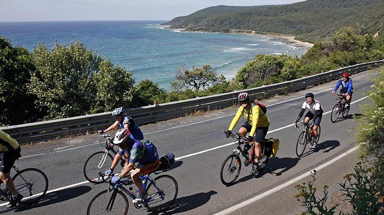 The RACV Great Victorian Bike Ride offers breathtakingly beautiful cycling