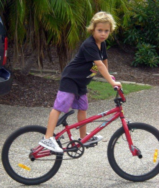 I remember getting my first red bike as clearly as if it was yesterday