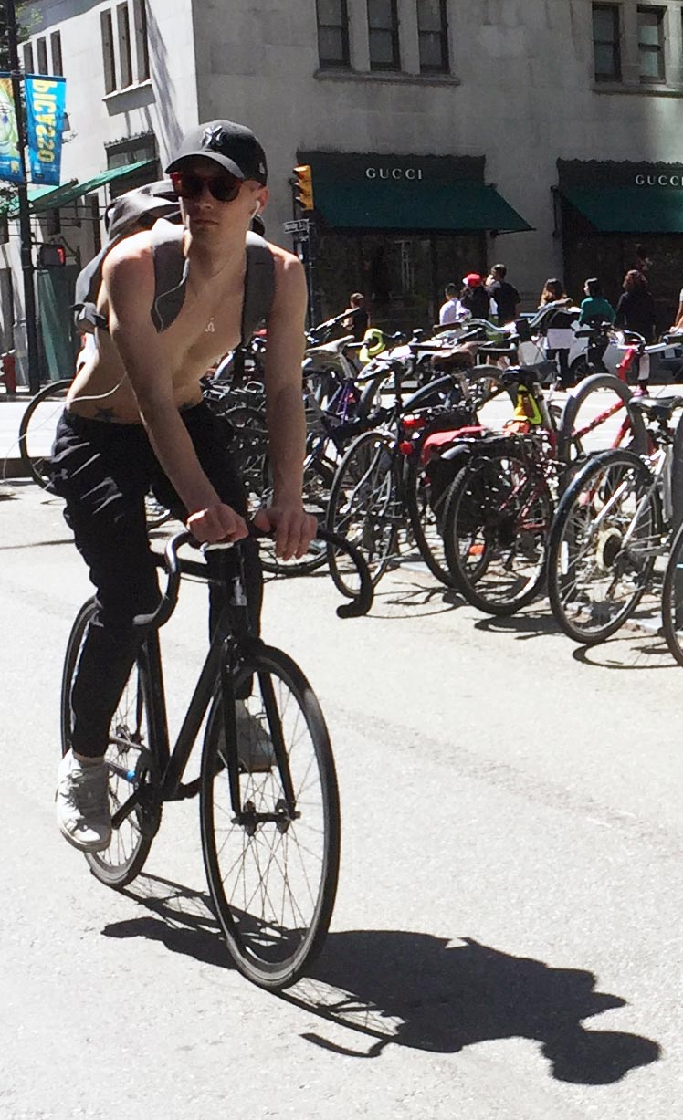The aim should be for cycling to be pleasant, relaxed, safe, and fun, not merely non-fatal.