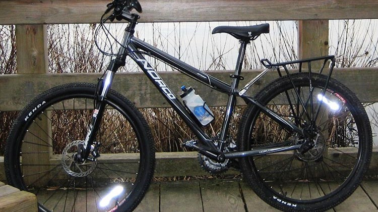 Here's a Norco Storm mountain bike that I used to own