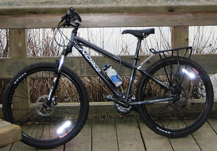 Guide to Bike Terms. Are you buying a new or used bike, and confused by all the bike terms ? Our guide to bike terms will empower you when shopping for a bike. Here's a Norco Storm mountain bike that I used to own