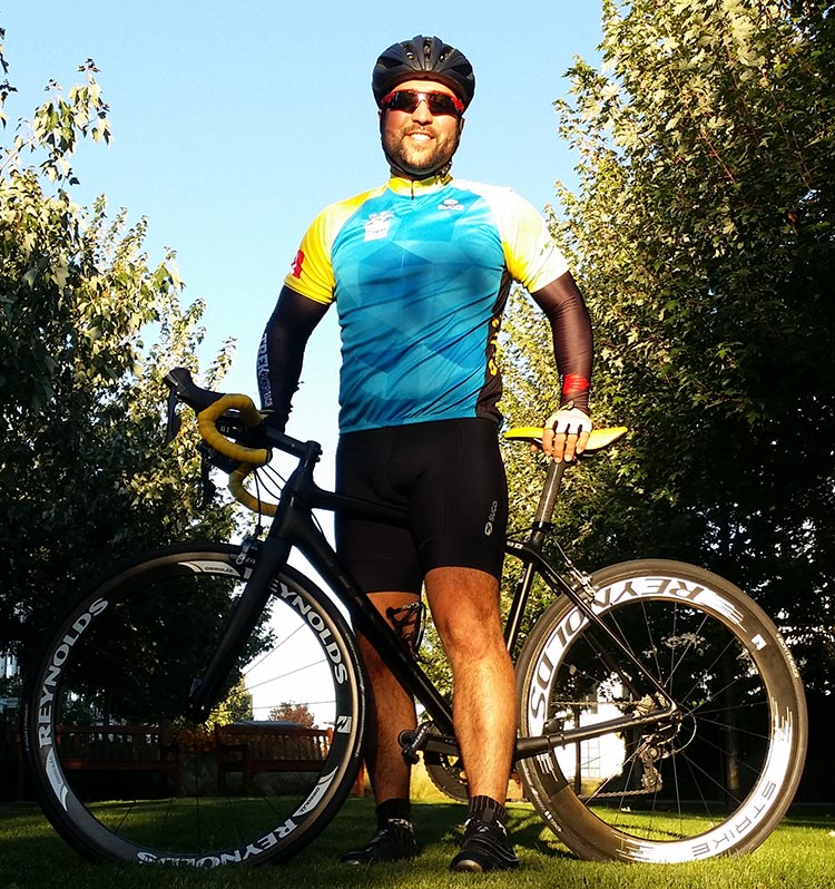 Matt Fenrich will be doing the BC Ride to Conquer Cancer on his wedding anniversary weekend, 27-28 August