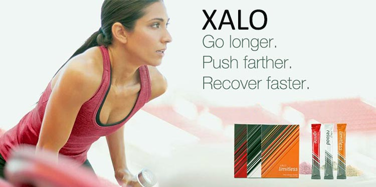 The XALO products are essentially a suite of three products to cover the three key needs: get energized enough to exercise; promote optimal performance of the exercise; and then recover as fast as possible from the exercise (so you can do it again!).