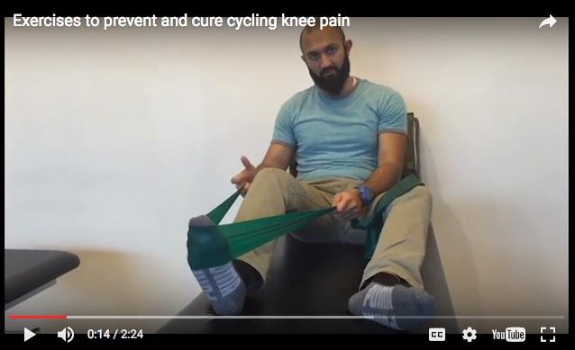 Video: 3 Exercises for Cycling Knee Pain
