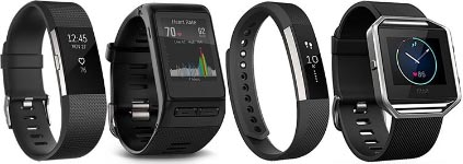 4 best selling fitness trackers