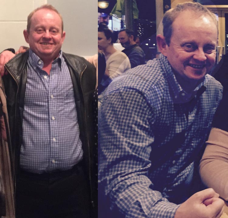 7 steps to lose weight by cycling. Sometimes I put on weight, and have to take it off again. This is me before and after a year of cycling. I lost about 40 pounds