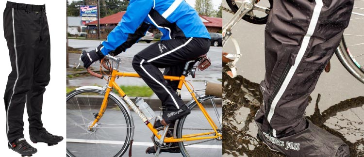 Showers-Pass-Transit-Pant-Waterproof-and-Breathable-showing-pants-worn-on-bike-and-lower-leg-B00SV1Q9KK(1)