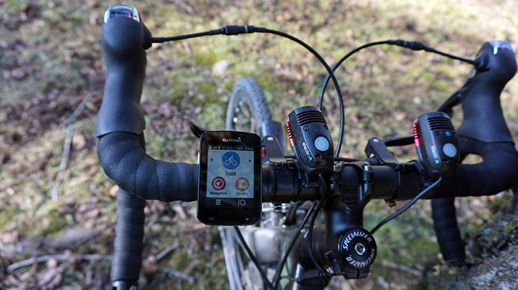 Here is my Garmin Edge 820 on my handlebars. Like the Garmin Edge 520, it is slim, small, and very good looking. AND both of them can alert your significant other if you have an accident. I love that ...