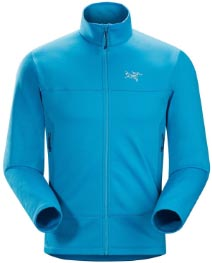 The Arcteryx Arenite Jacket is a very highly rated fleece jacket - 3 different kinds of cycling jackets