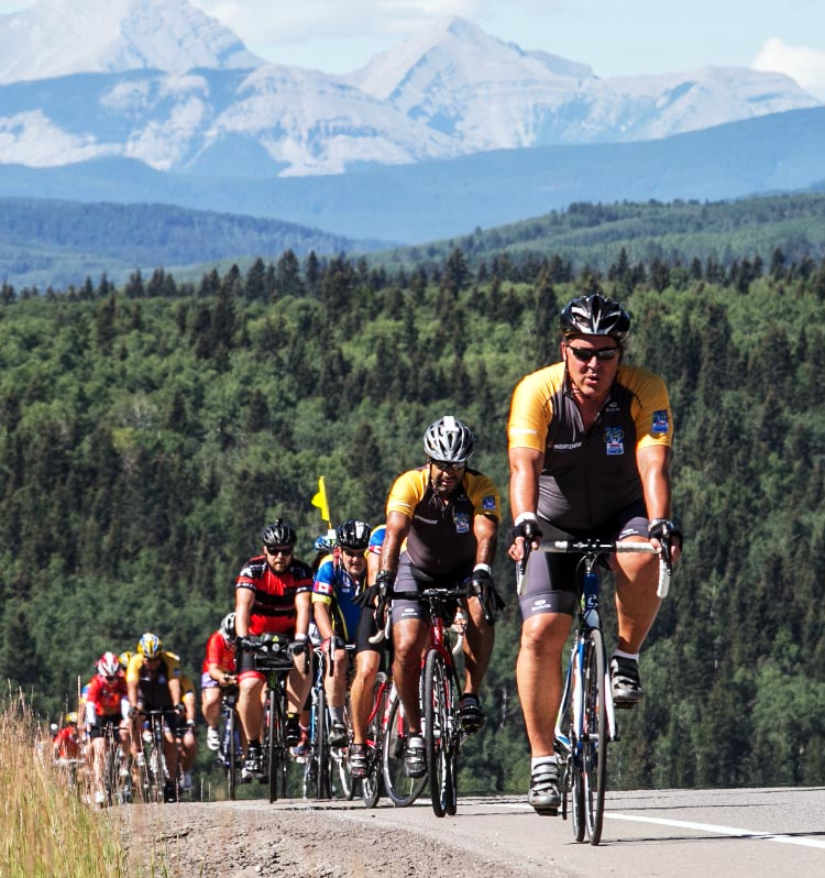 Join Ken and be part of an awesome event - the Ride to Conquer Cancer in Alberta