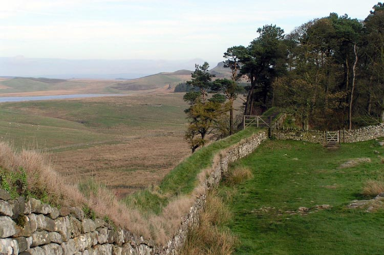 Hadrian's Cycleway stretches along the entire length of Hadrian's Wall!