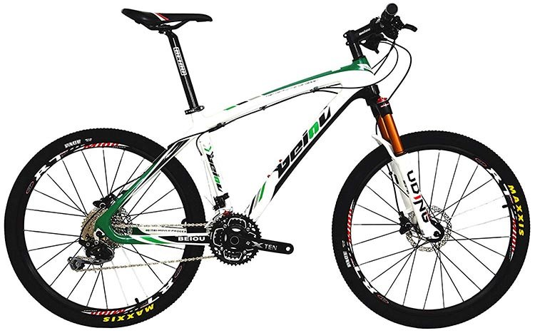 7 Great Bikes You Can Buy on Amazon - Cruiser, Mountain and Hybrid. BEIOU Carbon Fiber Mountain Bike