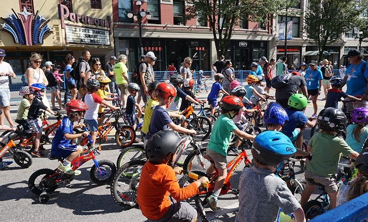 "It was the first time I ever saw cyclists ""racing"" with training wheels!First New Westminster Grand Prix a Huge Success"