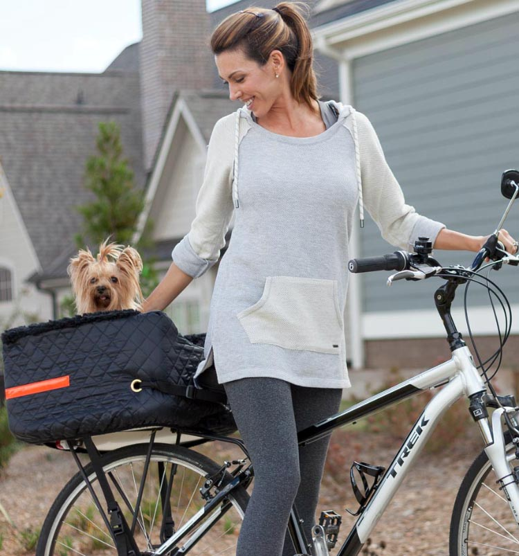 5 of the Best Bike Pet Baskets. Snoozer Pet Rider Dog Bike Basket