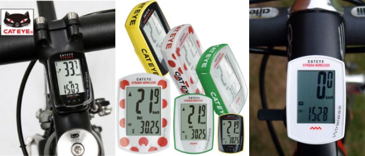 CatEye has been around since 1946, and is the global leader in bike computers. They know what they're doing. The CatEye Strada touchscreen is easy to use
