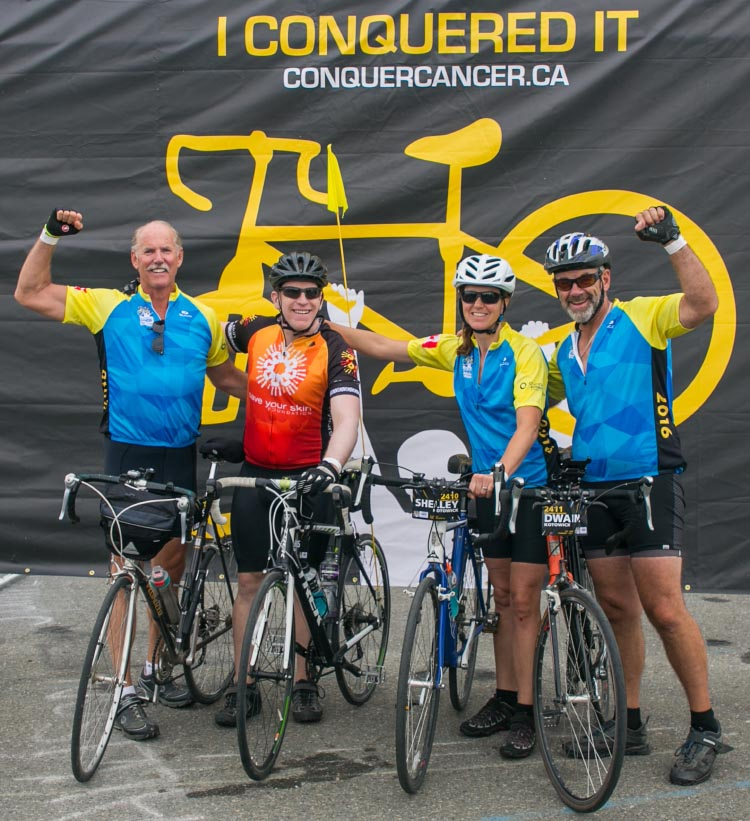 You can support Chris and his team, the Melanoma Warriors, here