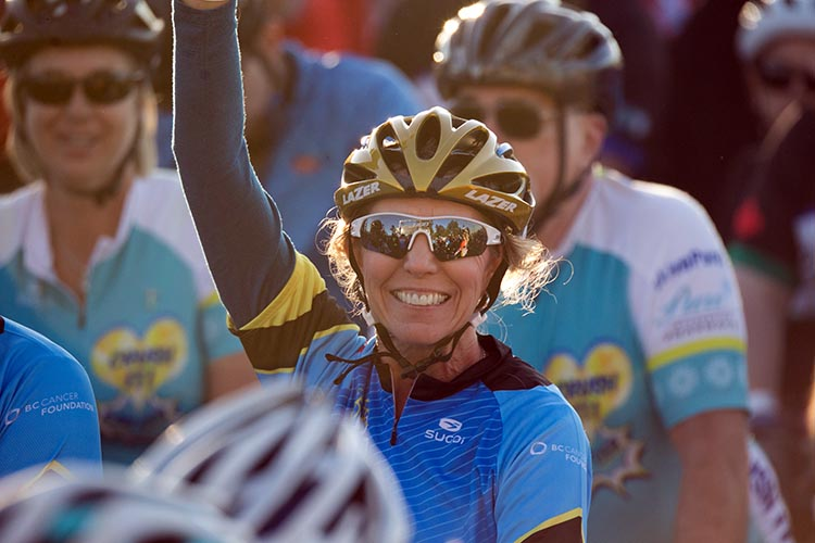 Every year, cyclists continue to be inspired by the stories of hope and courage.