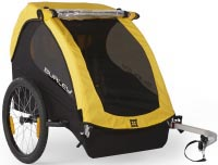 7 of the Best and Safest Baby and Child Bike Seats, with Reviews and Videos - 2019 . No. 5: Burley Bee Child Trailer