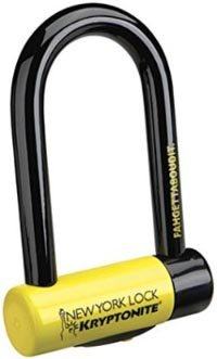 How to Choose the Best Bike Lock. U-locks (also called D-locks), such as this excellent Kryptonite Fahgettaboudit U-Lock, are the best choice for bike locks