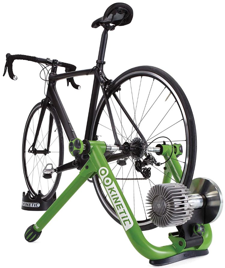 7 Reasons to do Interval Training on Your Bike. This is the top-rated Kinetic Road Machine 2.0 Fluid Trainer, which you can use to turn your regular bike into an indoor bike during the winter