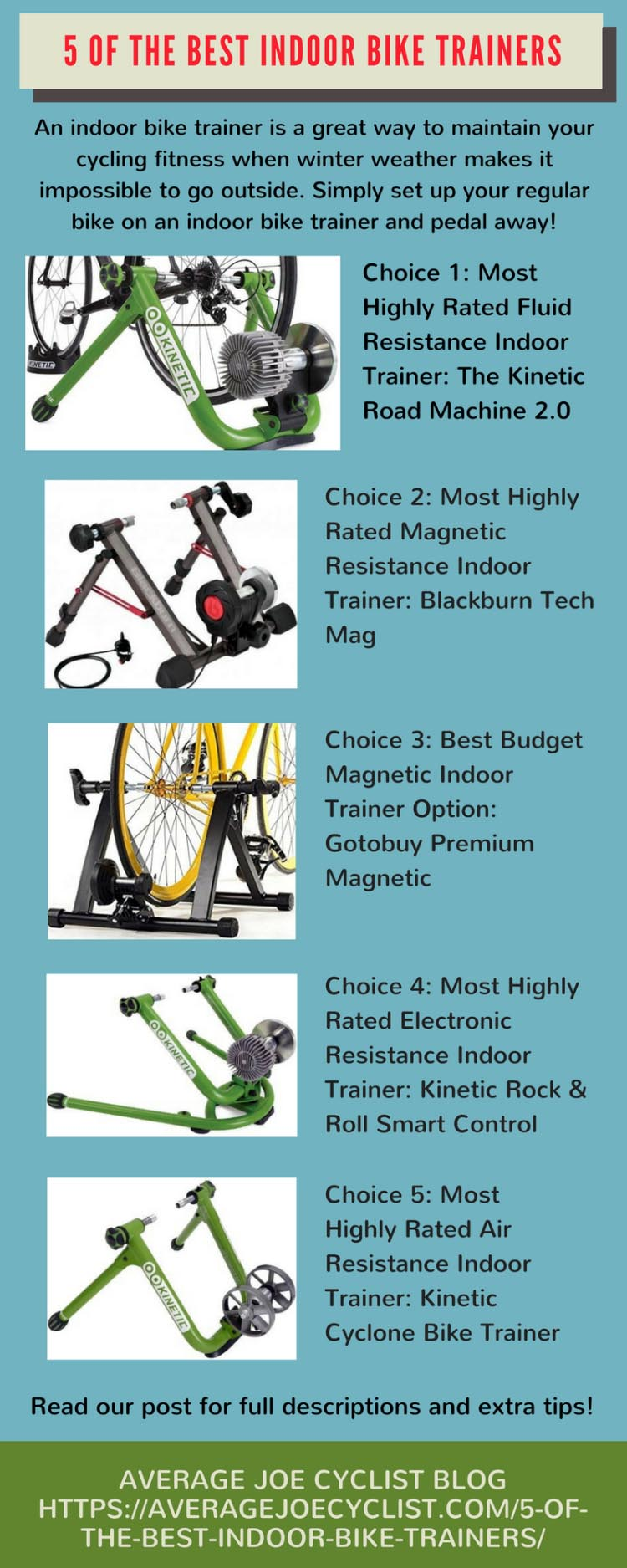 5 of the best indoor bike trainers