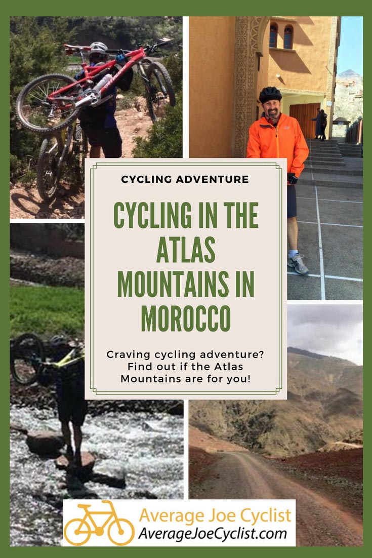 Cycling in the Atlas Mountains in Morocco
